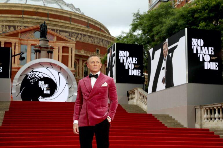 FOTOGALERIJA: Kraljevska premijera 25. filma o Jamesu Bondu i zadnjeg za Daniela Craiga